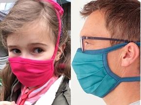 Mund - und Nasenbehelfsmasken