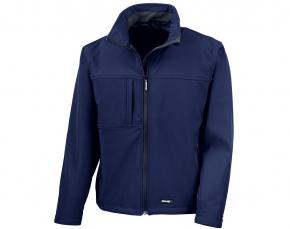 Softshell Jacke mit eigener Beschriftung