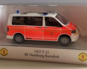 Feuerwehr Hamburg NEF 23, Barmbek