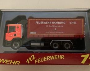 Scania CG 17 WLF Feuerwehr Hamburg F32 AB Holz / Rüstmaterial