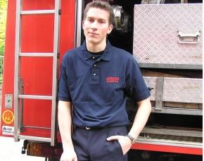 Poloshirt Feuerwehr Hamburg