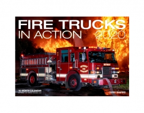 Fire Trucks in Action 2020 Kalender Feuerwehr