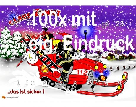 100 x CLAUS_Adventskalender
