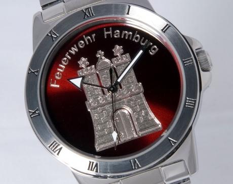 Armbanduhr Feuerwehr Hamburg