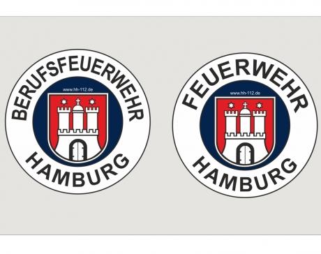 Aufkleber Retro_Hamburg innenklebend