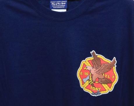 FDNY T-Shirt E16 & TL7