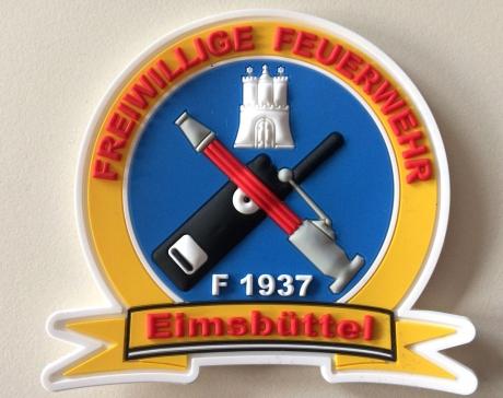 Rubberpatch FF Eimsbüttel