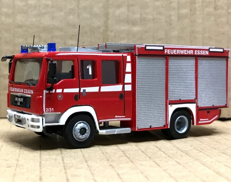 Feuerwehr Essen HLF 1, Handarbeitsmodell