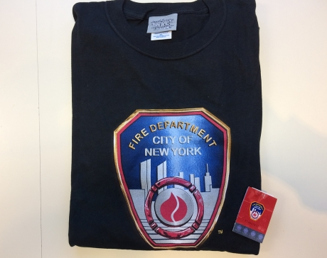 FDNY T-Shirt schwarz Gr. XXL