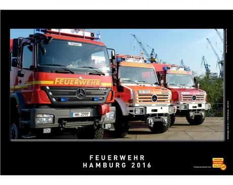 Feuerwehr Hamburg Kalender 2016