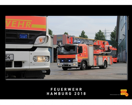 Feuerwehr Hamburg 2018, Kalender