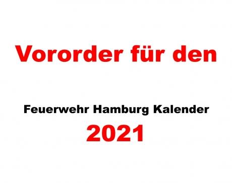 Feuerwehr Hamburg Kalender, 2021