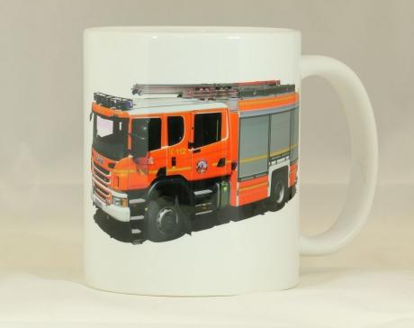 Kaffeebecher Hamburg HLF 20, Scania