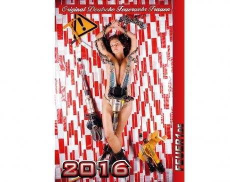 Kalender 2016 Feuerwehrfrauen