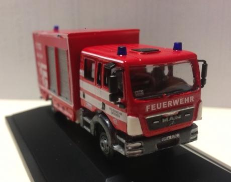 Feuerwehr Bremen, GW-San, Handarbeitsmodell