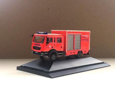 GW-San Feuerwehr Hamburg, Handarbeitsmodell