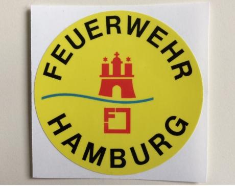 Aufkleber Feuerwehr Hamburg