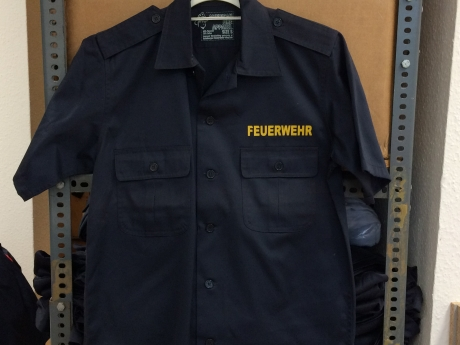 US Diensthemd, Gr. S