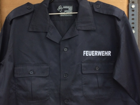 US Diensthemd, Gr. XXL 1/1 Arm