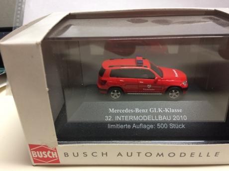 Busch, Mercedes GLK