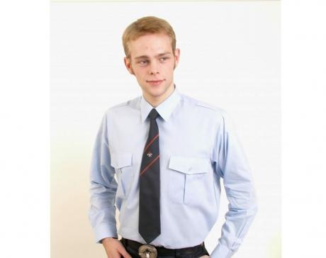 Krawatte Feuerwehremblem/Streifen