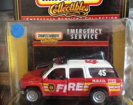 2000 Chevy Suburban Fire