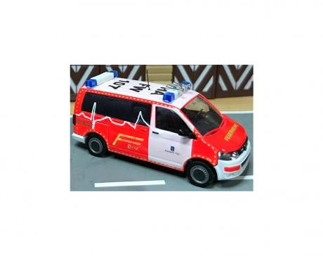 Feuerwehr Hagen NEF, Handarbeitsmodell
