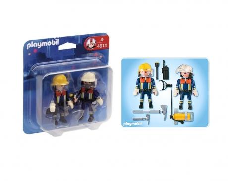 Feuerwehrtrupp, Playmobil