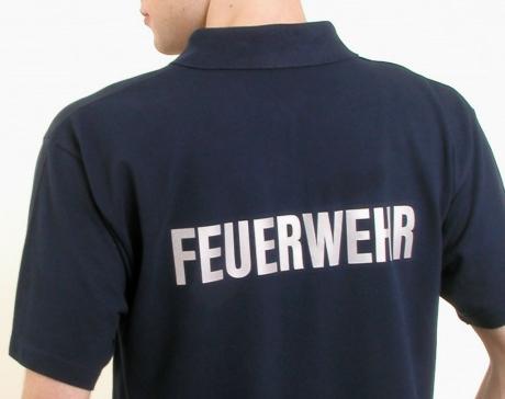 Poloshirt FEUERWEHR