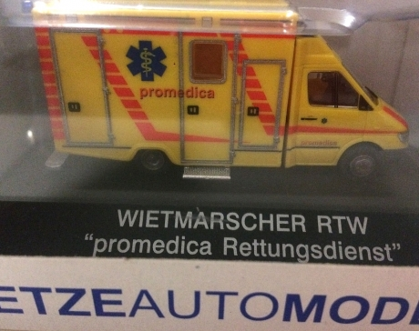 Wietmarscher RTW, Promedica