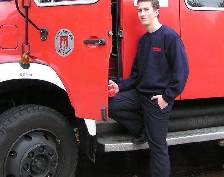 Sweatshirt Feuerwehr Hamburg