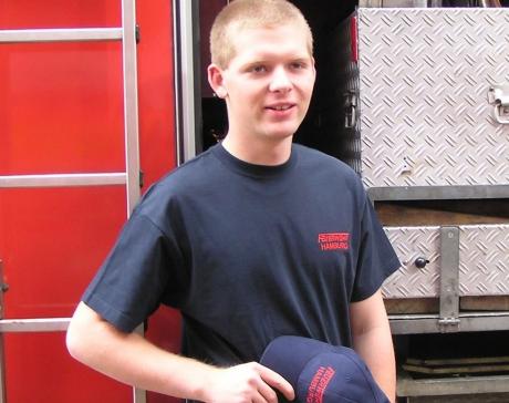 T-Shirt Feuerwehr Hamburg