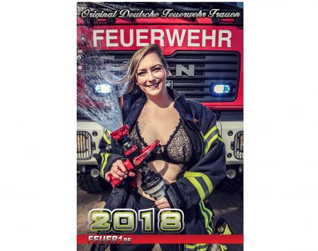Original Deutsche Feuerwehr Frauen 2018