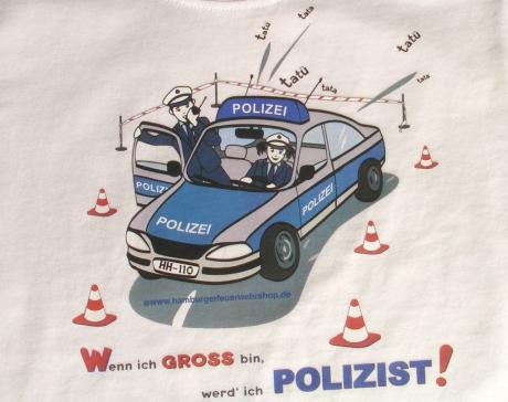 Wenn ich groß bin, werd` ich Polizist