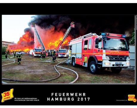 Feuerwehr Hamburg Kalender 2017
