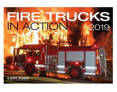 Fire Trucks in Action 2019 Kalender Feuerwehr