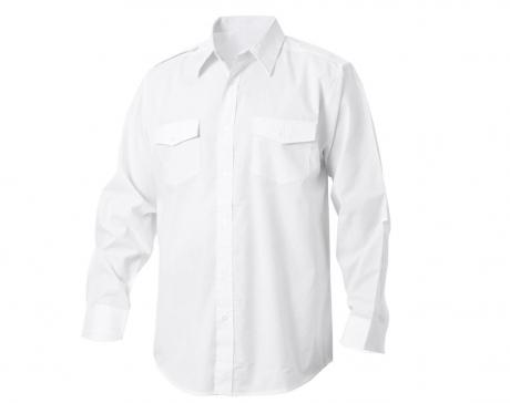 Diensthemd weiß 1/1 Arm