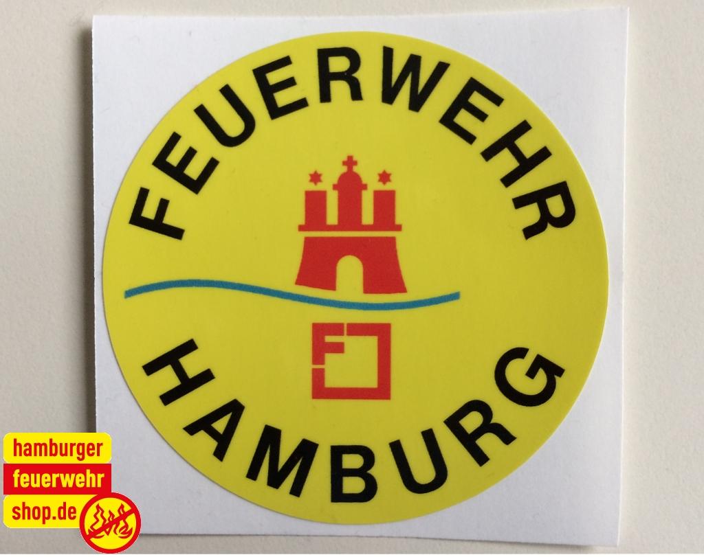 Aufkleber Feuerwehr Hamburg 10611
