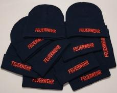 10er Pack Wintermütze Feuerwehr