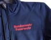 Feuerwehr Softshell Jacke mit eigener Beschriftung