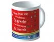 12 Kaffeebecher mit eigenem Druck